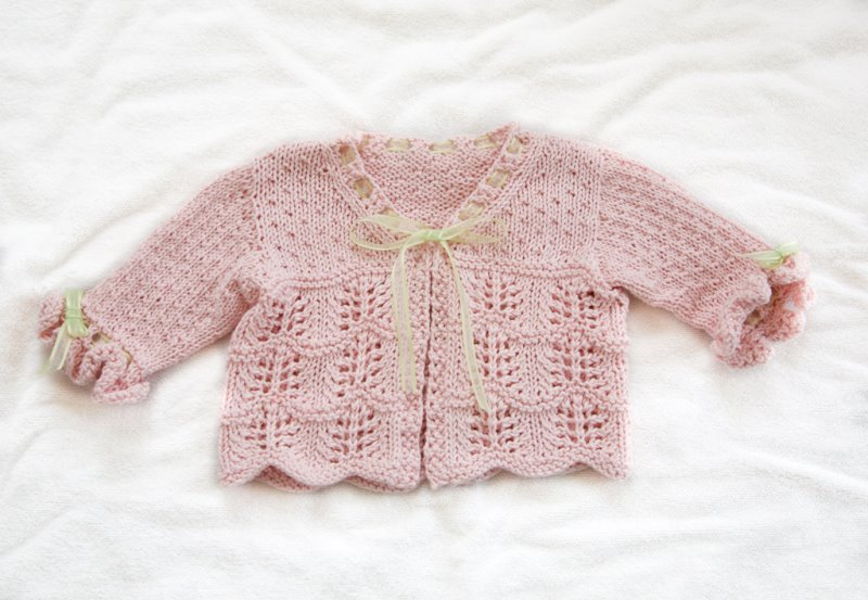Baby Lace Cardigan | Kaleido by Silkie B.