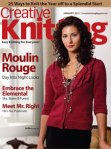 Ruffles Cardigan - Creative Knitting Jan 2011 Issue