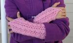 Bella Gauntlets - Petite Purls Winter 2010