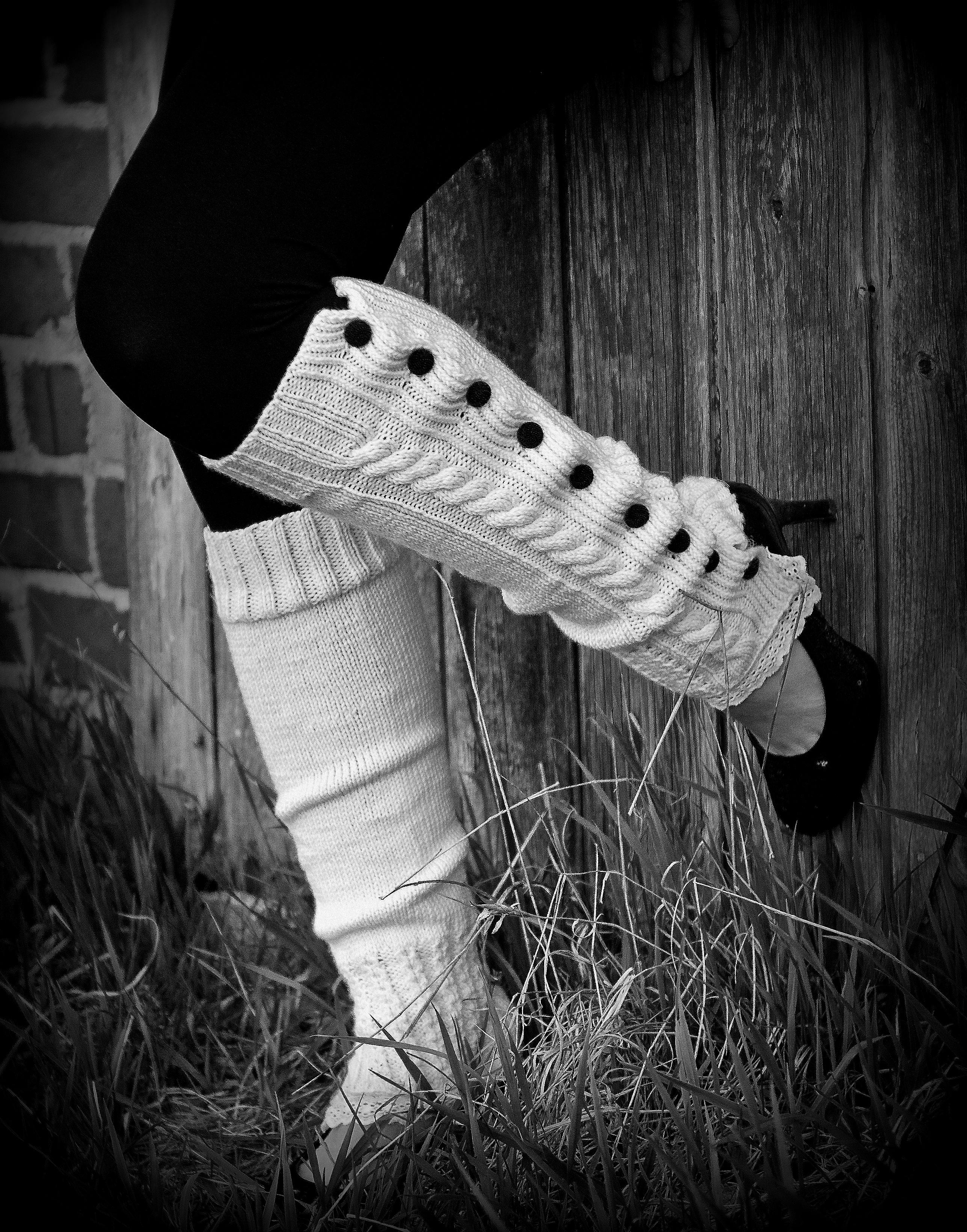 Leg Warmers Knitting Pattern Circular Needles : knitting Kaleido by Silkie B.